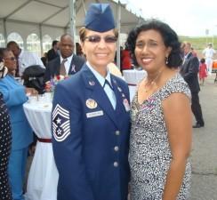 Pentagon Ceremony 11 Sept 2011 woman